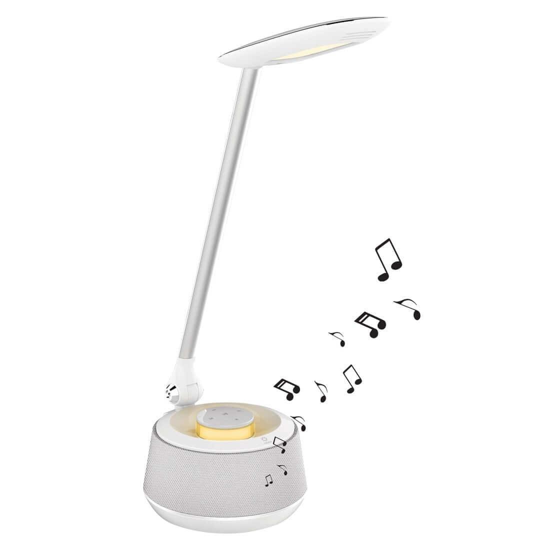 Led Desk Lamp With Bluetooth Speaker