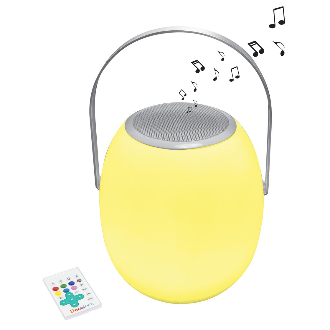 stimmungslampen lautsprecher mit party licht bluetooth farbwechsel eingebaute batterie. Black Bedroom Furniture Sets. Home Design Ideas