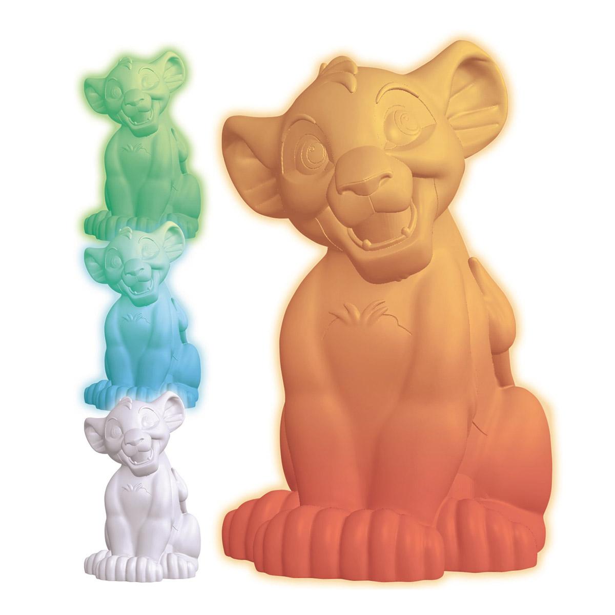 Lampes D Ambiance Veilleuse Couleur Simba Le Roi Lion