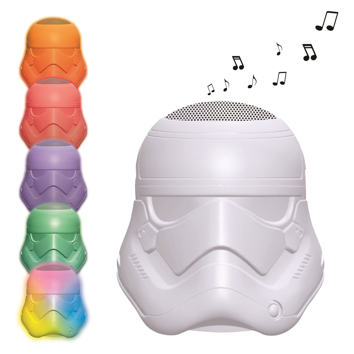 Lampes D Ambiance Enceinte Bluetooth Lumineuse Stormtrooper Star