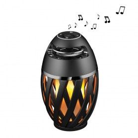 Enceinte Bluetooth® Stéréo Flamme LED