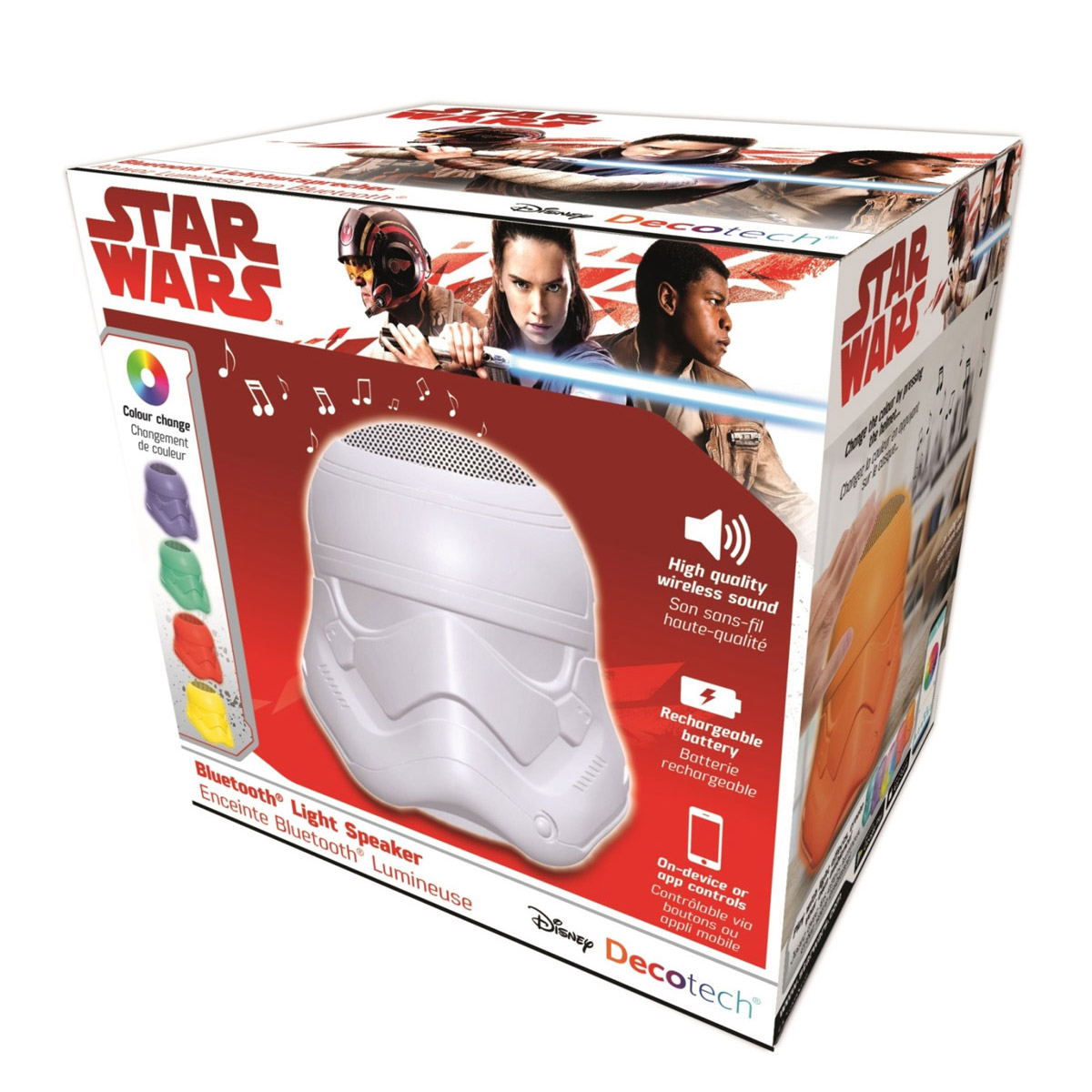 Mood Lamps Stormtrooper Bluetooth Light Speaker Star